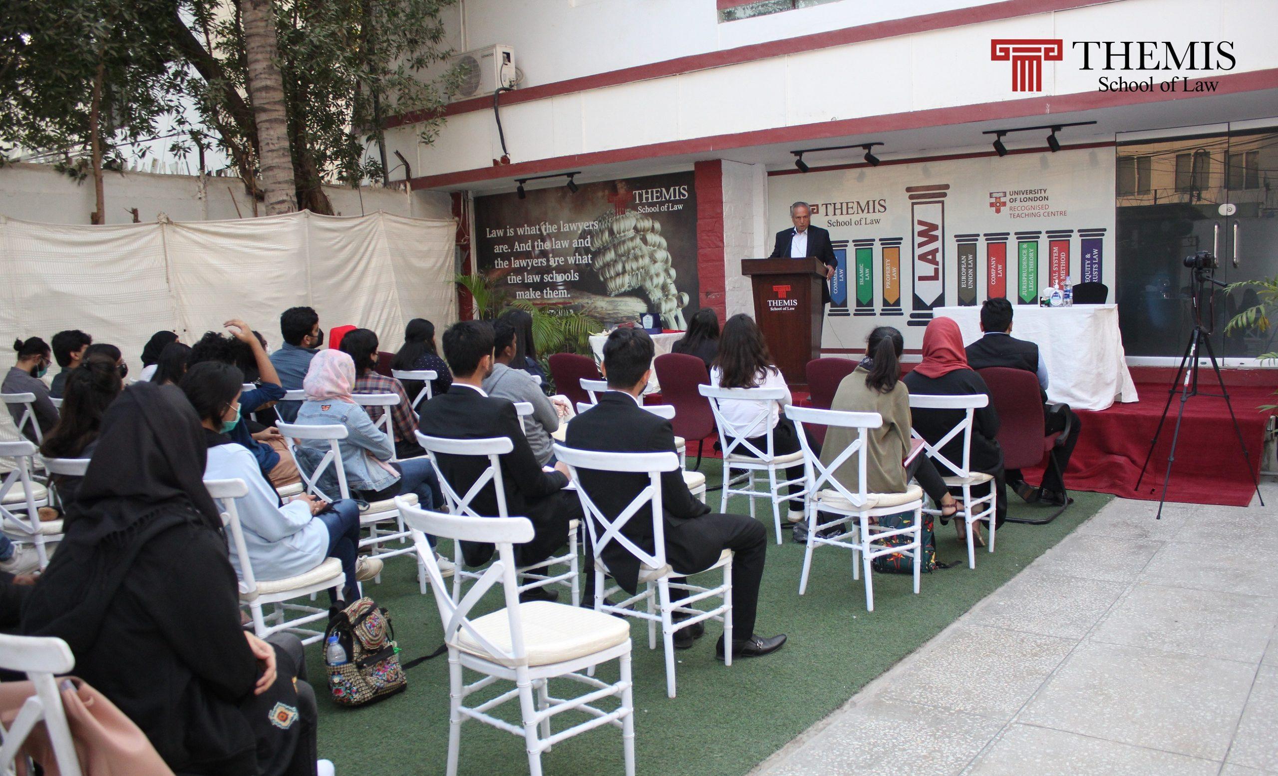 Workshop by Justice Retd. Wajihuddin Ahmed
